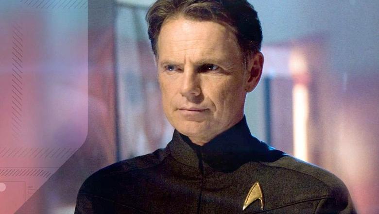 Bruce Greenwood a Star Trek mozifilmben.