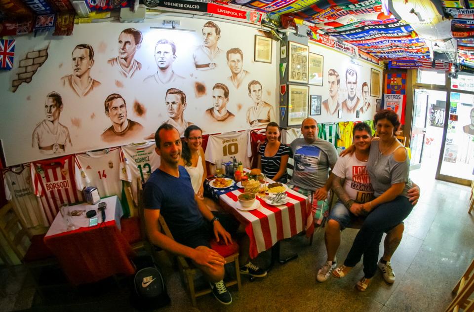 Magyar etterem és bár Barcelónában