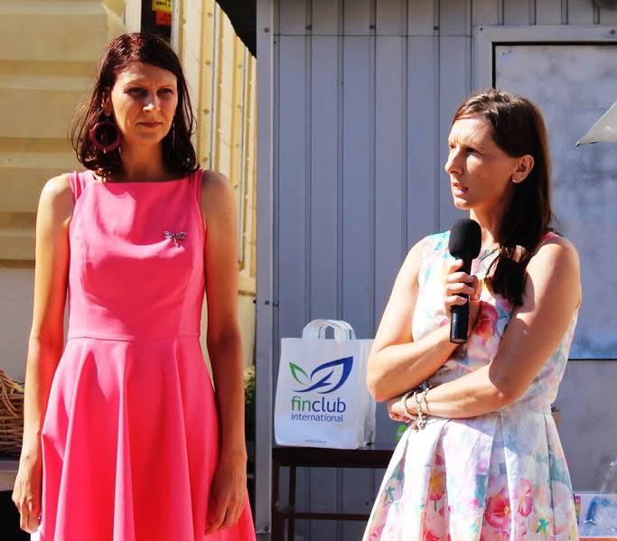 Pákozdi Kučerová Silvia és Erika Jung, a szervezet vezetői
