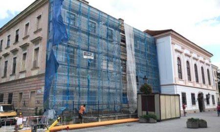 Szia Komárom - Folytatódik a megyeháza épületének felújítása