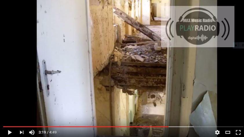 Szia Komárom - Szomorú videón a volt Poliklinika