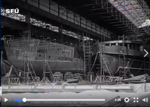 Szia Komárom - Sztálin elvtárs születésnapjára – Hajók a Szovjetunióba