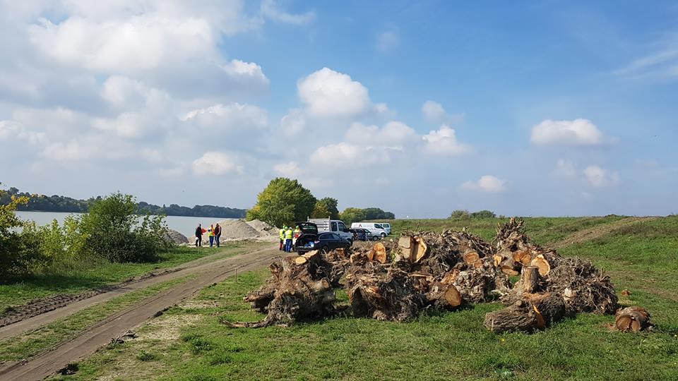Szia komárom - Elkezdődtek az új Duna-híd munkálatai