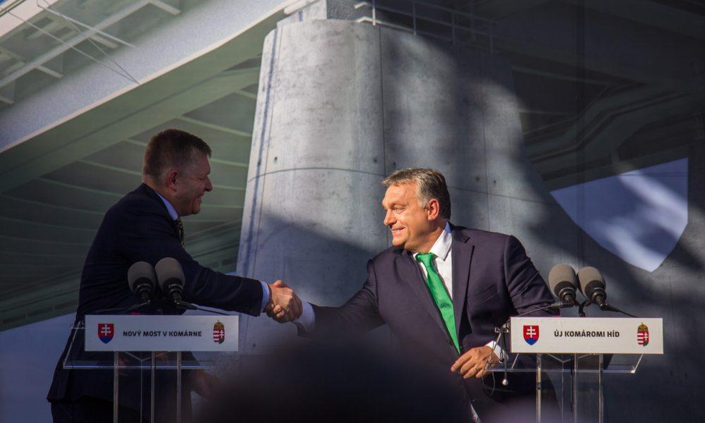 Szia Komárom - Lezajlott az új Duna-híd építésének ünnepélyes megnyitója