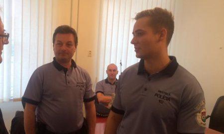 Szia Komárom - A komáromi életmentő rendőröket országosan is kitüntették