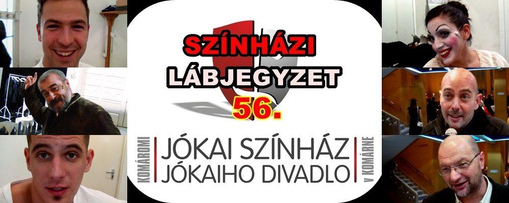 Szia Komárom - SZÍNHÁZI LÁBJEGYZET 56. – A Komáromi Jókai Színház internetes műsora