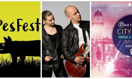 Szia Komárom - Egy hétig a zenéé a főszerep: PesFest, Kicsi Hang és Partytime