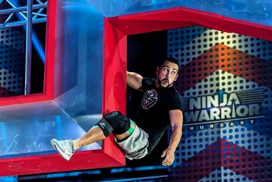 Szia Komárom - Nézd meg Farkas Laci teljesítményét a Ninja Warrior Hungary középdöntőjéből