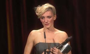 Szia Komárom - VIDEÓ: Így vette át díját Berlinben a felvidéki Borbély Alexandra