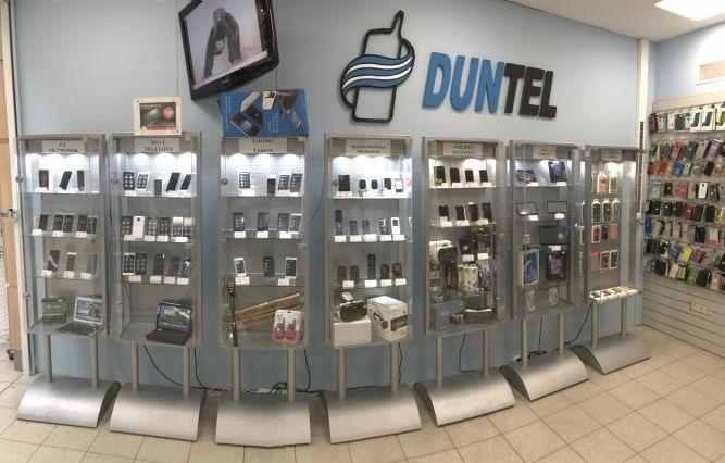 Szia Komárom - A DUNTEL csapata szakszerű segítséget biztosít telefonok eladása és szervizelése terén