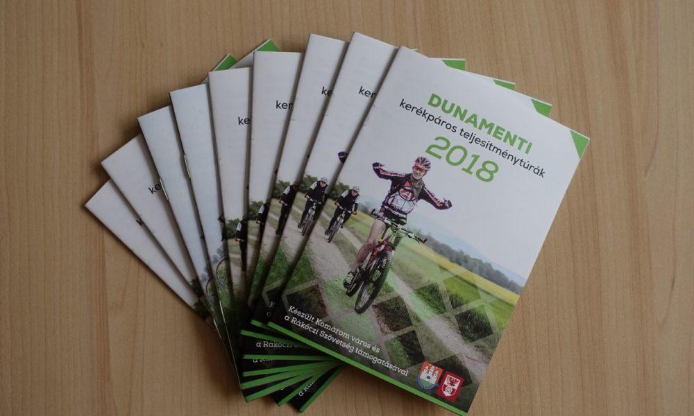 Szia Komárom - Megjelent a régió kerékpáros túráinak idei kalendáriuma