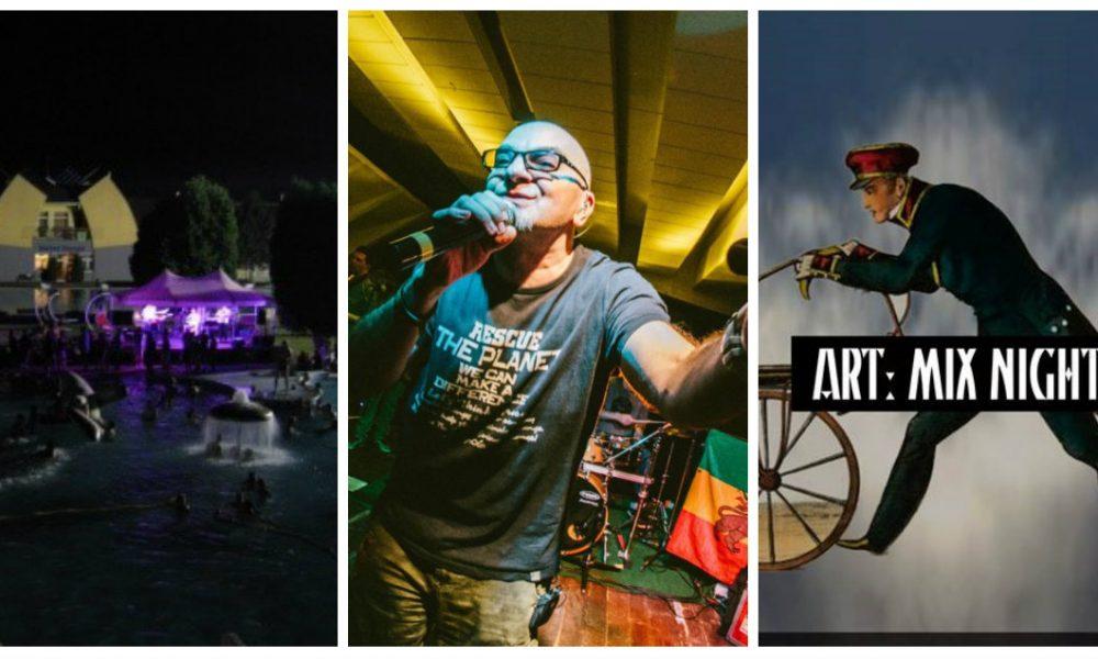 Szia Komárom - Éjszakai fürdőzés, Ladánybene 27 és ART: mix night vár ránk a következő egy hétben