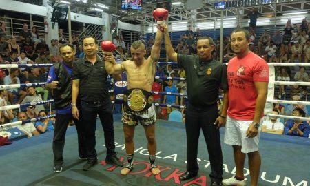 Szia Komárom - Grónai Sándor újabb ellenfelét ütötte ki Thaiföldön
