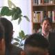Szia Komárom - Komáromi középiskolásoknak tartott rendhagyó irodalomórát Závada Péter