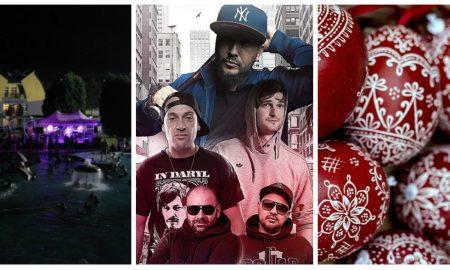 Szia Komárom - Hatalmas hip-hop buli, Éjszakai fürdőzés és húsvétváró programok