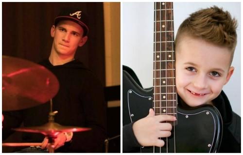 Hogy hívják a már fiatal korában nagy tehetségnek tartott Hodek Dávid 7 éves basszusgitáros öccsét?