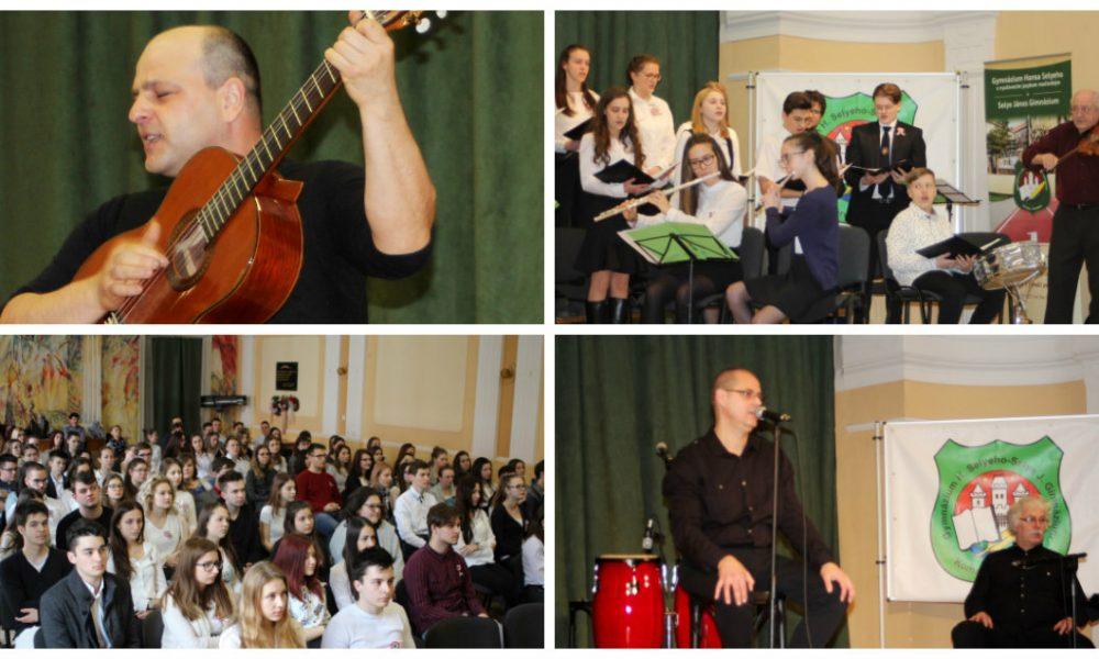 Szia Komárom - Kulturális tavaszváró a Selye János Gimnáziumban