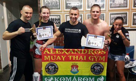 Szia Komárom - Újabb sikerek a komáromi Alexandros Muay Thai Gymben