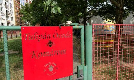 Szia Komárom - Megújul a Tulipán óvoda
