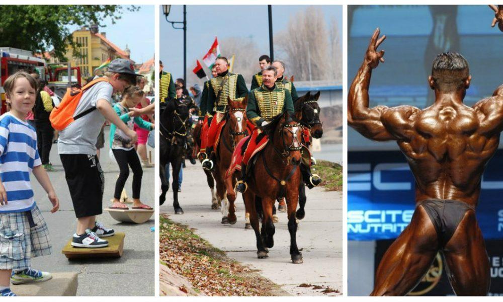 Szia Komárom - Gyermeknapi programok, testépítő Európa-bajnokság és hadijáték is vár ránk a héten