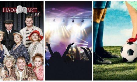 Szia Komárom - Két bemutató és több zenei buli is vár ránk a héten