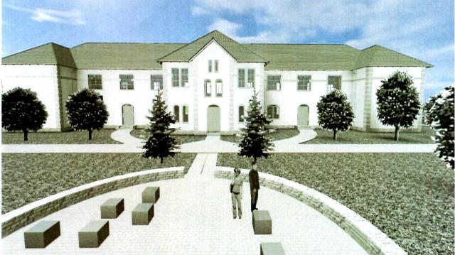 Szia Komárom - Újabb fázisba ért a dél-komáromi múzeumépület felújítása