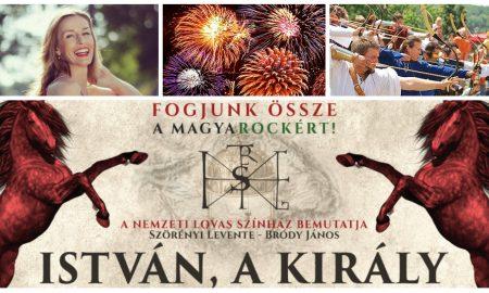 Szia Komárom - Színes családi programokkal várnak az István, a király rockopera előtt