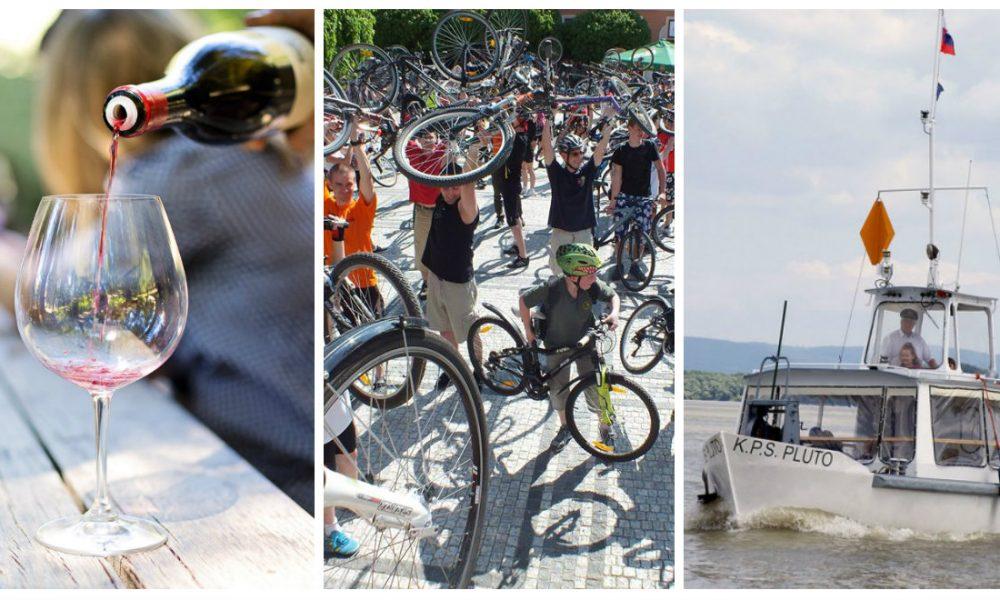 Szia Komárom - Borkorzó, kerékpáros felvonulás és sok más program is vár ránk