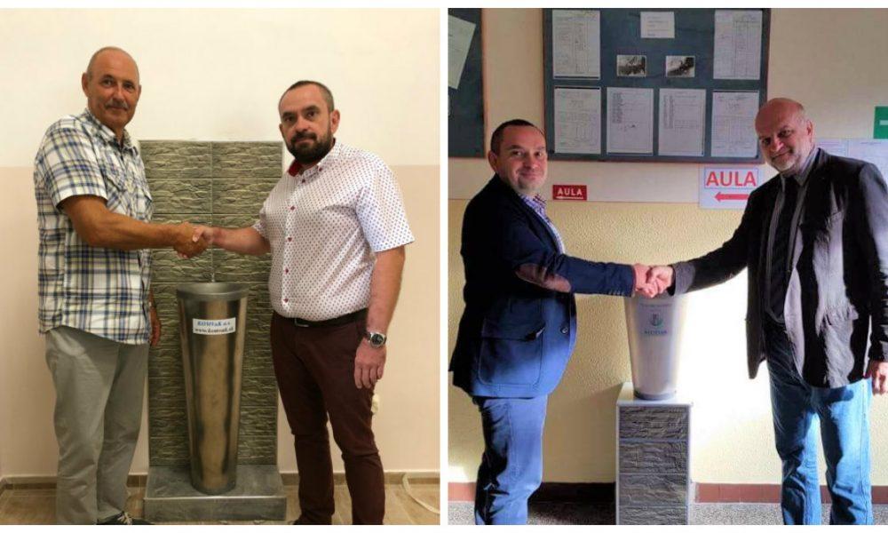Szia Komárom - Ivókutakat kaptak az iskolák