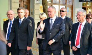 Szia Komárom - Komáromba látogatott a múlt héten Andrej Kiska államfő