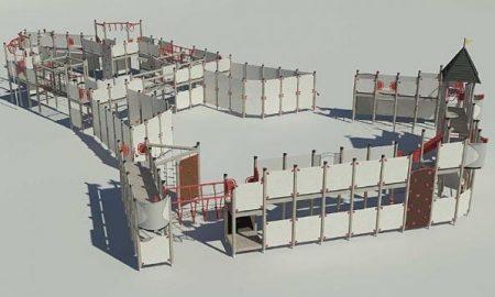 Szia Komárom - Hamarosan elkezdik építeni az Öregvár kicsinyített, játszóteres változatát Dél-Komáromban