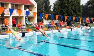 Szia Komárom - Dél-Komárom a megyei úszótabella élén