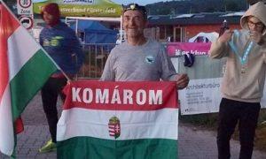 Szia Komárom - Szőnyi Ferenc újabb Ironman versenyt teljesített