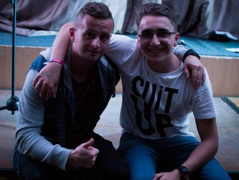 Laboda Róbert és Melecsky Kristóf (Fotó: FB)