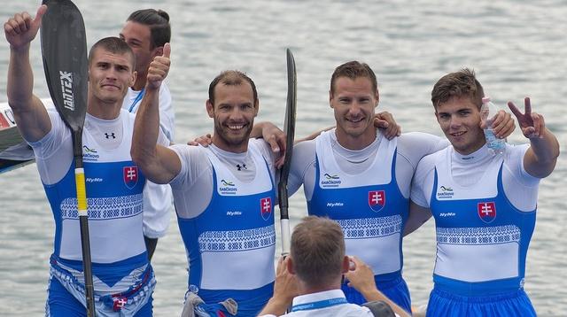 Milánó 2015. Linka Tibor, Tarr György, Vlček Erik és Denys Mišák