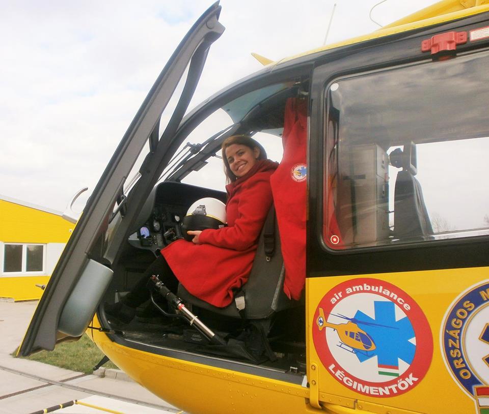 mentőhelikopteren