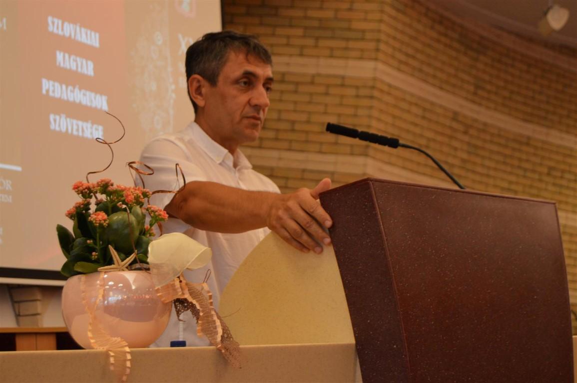Potápi János Árpád. Fotó: SZMPSZ