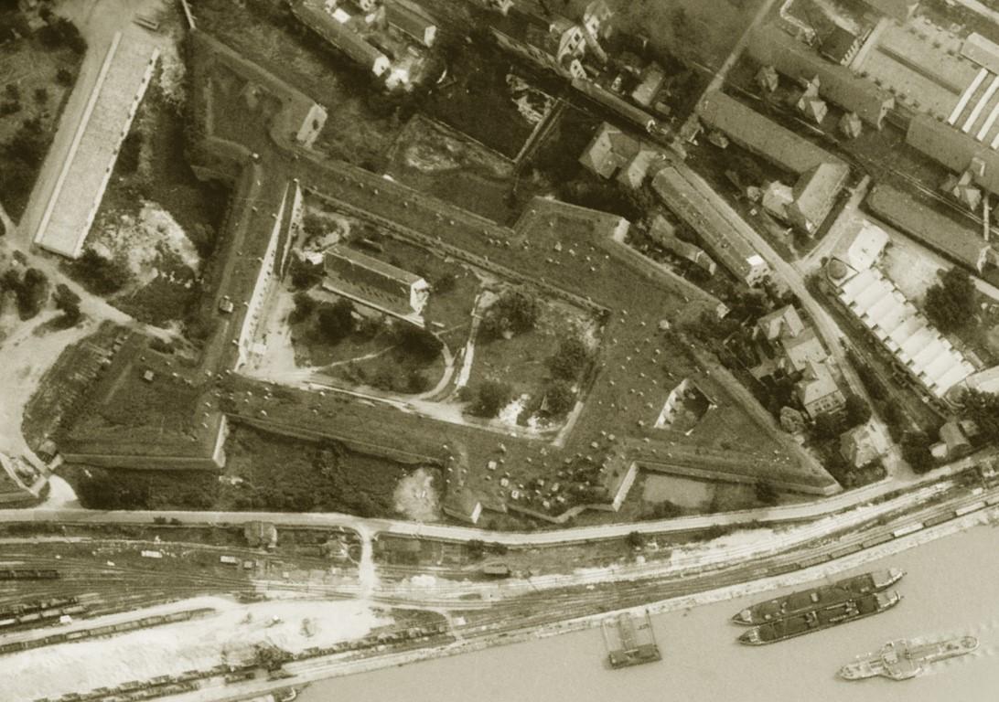 Légi fotó 1960-ból