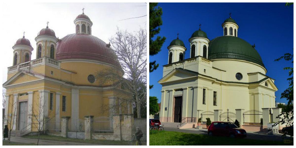 A Szent Rozália templom régen - és most
