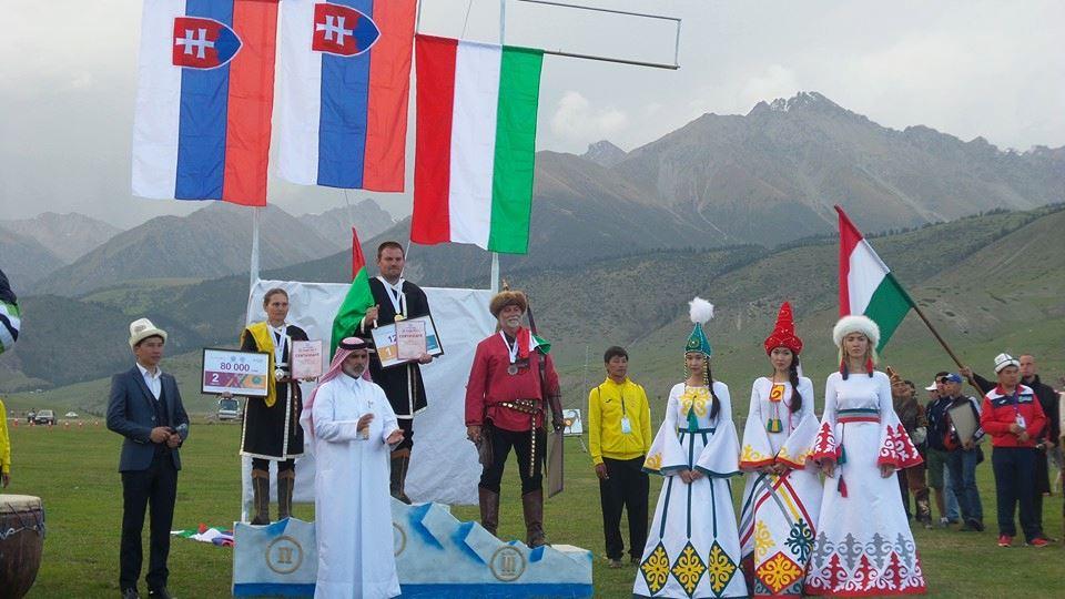 A házaspár szlovák zászló alatt versenyzett