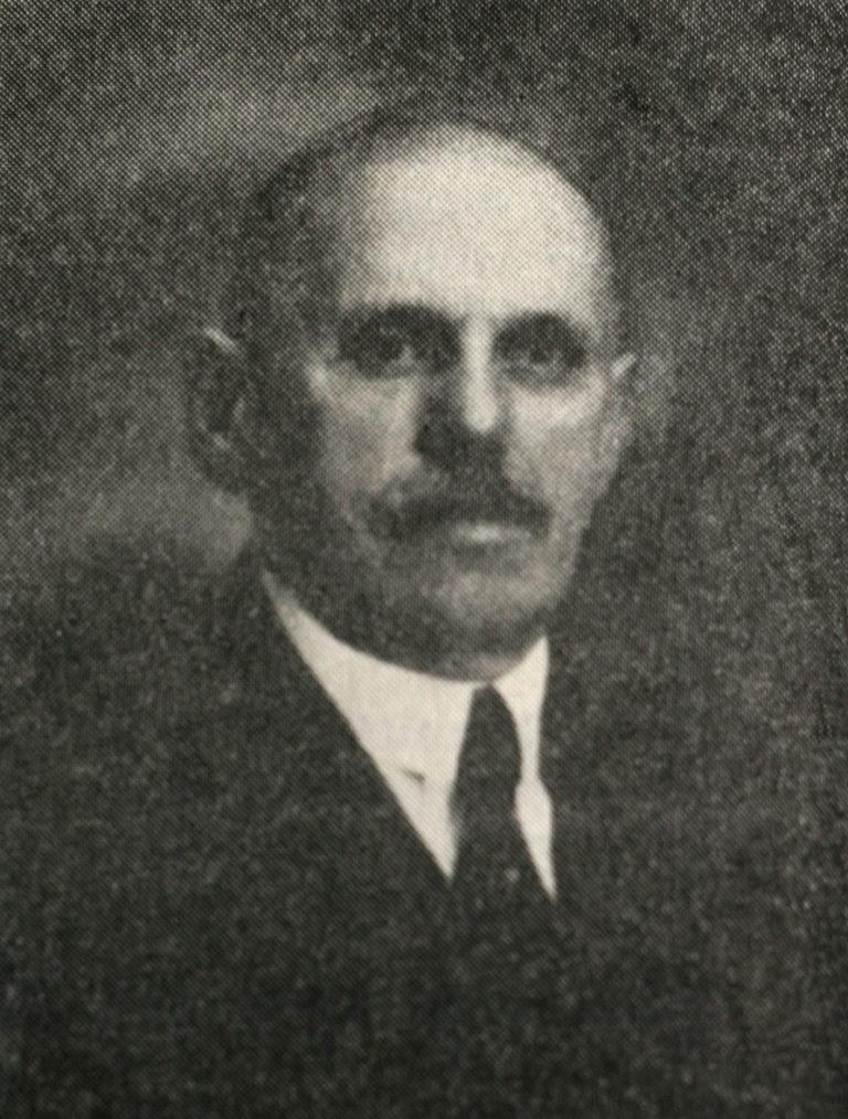 Dr. Lipscher Mór időskori hiteles fényképe a győri városi könyvtár gyűjteményéből